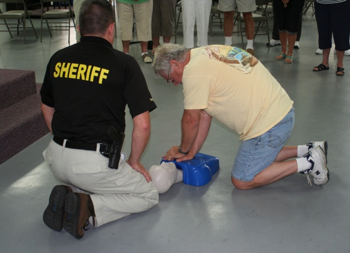 learn to save a life: ccso offers free cpr and aed training | press ...