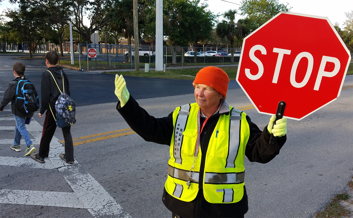CCSO Crossing Guard Named Best In Florida | Press Releases
