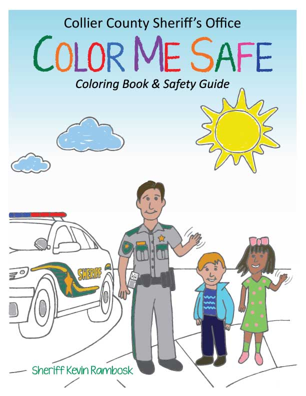 Color Me Safe Coloring Book and Safety Guide