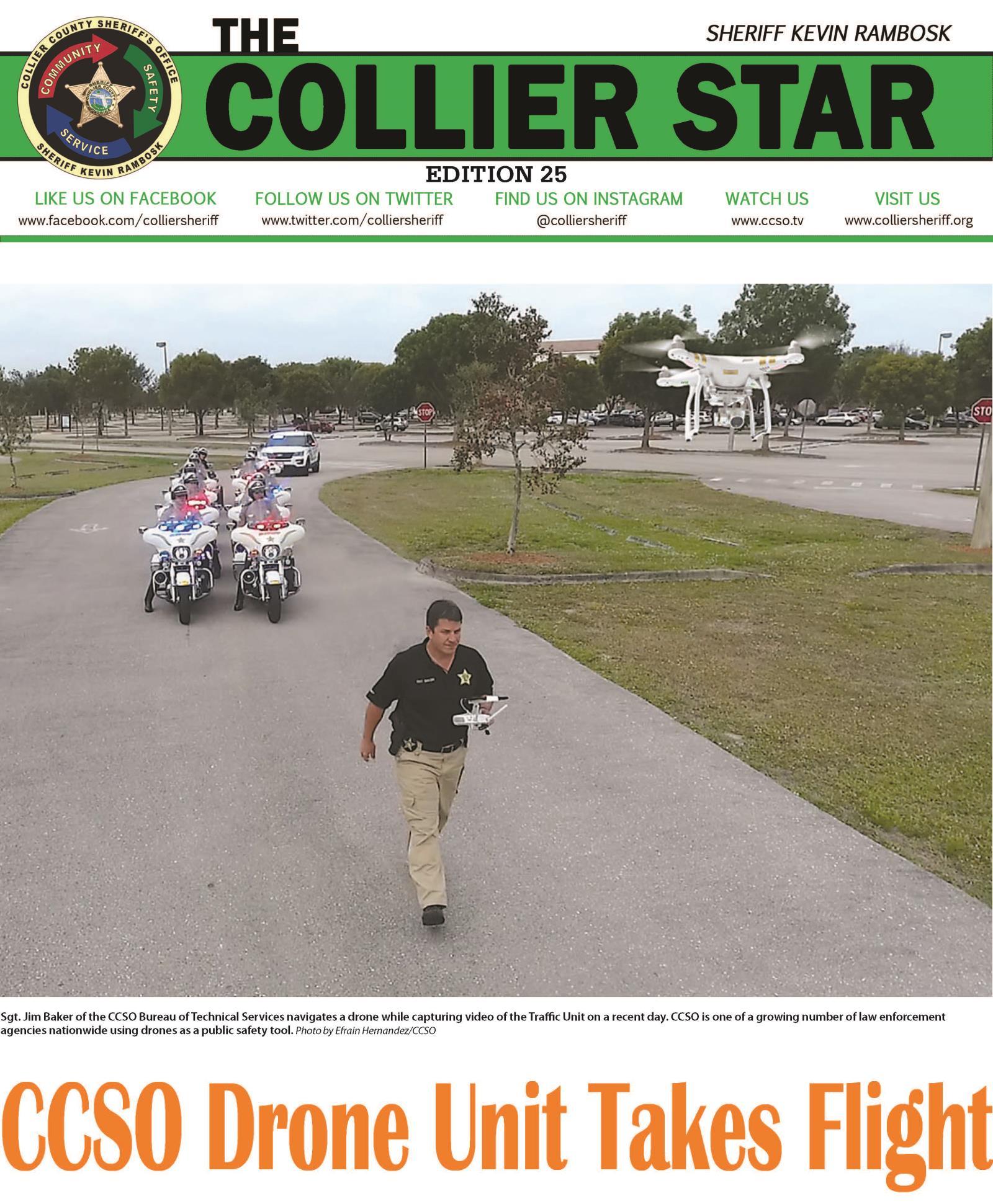 Collier Star Edition 25 Drone Unit Photo